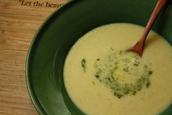 Celery Root Soup