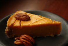 Pumpkin Silk Pie
