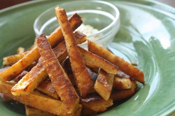 chickpea fries garlic mayo